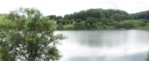 View of Kinghorn Loch from The Ecology Centre