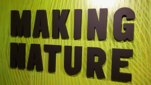 Making Nature sign
