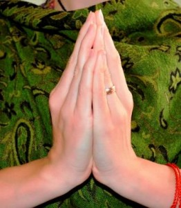 Kapota Mudra (dove) Believed to usher in humbleness and inward reflection.